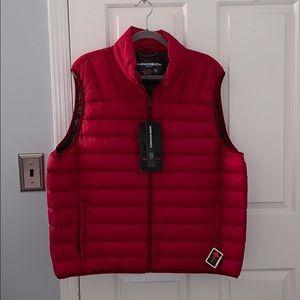 Men's puffy vest, XXL